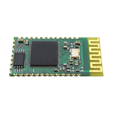 HC-09 serial port to Bluetooth wireless data transmission module through the module connected to the 51 single chip