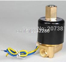 Free shipping electric solenoid water conditioner industrial no 12V dc 1 4 normally open type 2wk025 08
