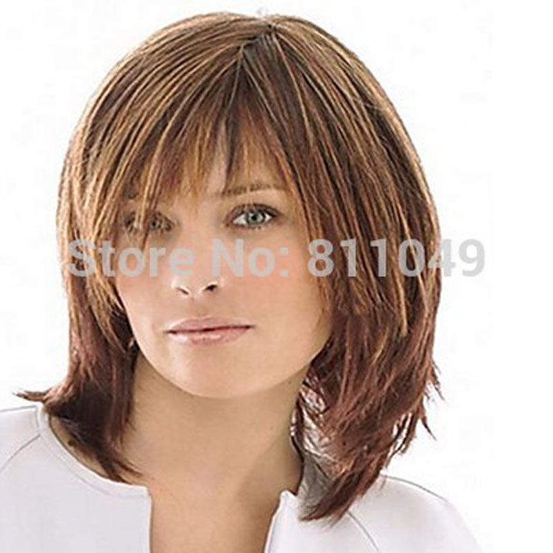 HAIRJOY Wonderful Synthetic Wig  Middle Long Straight   Blonde Hair Womens  Wigs <br><br>Aliexpress