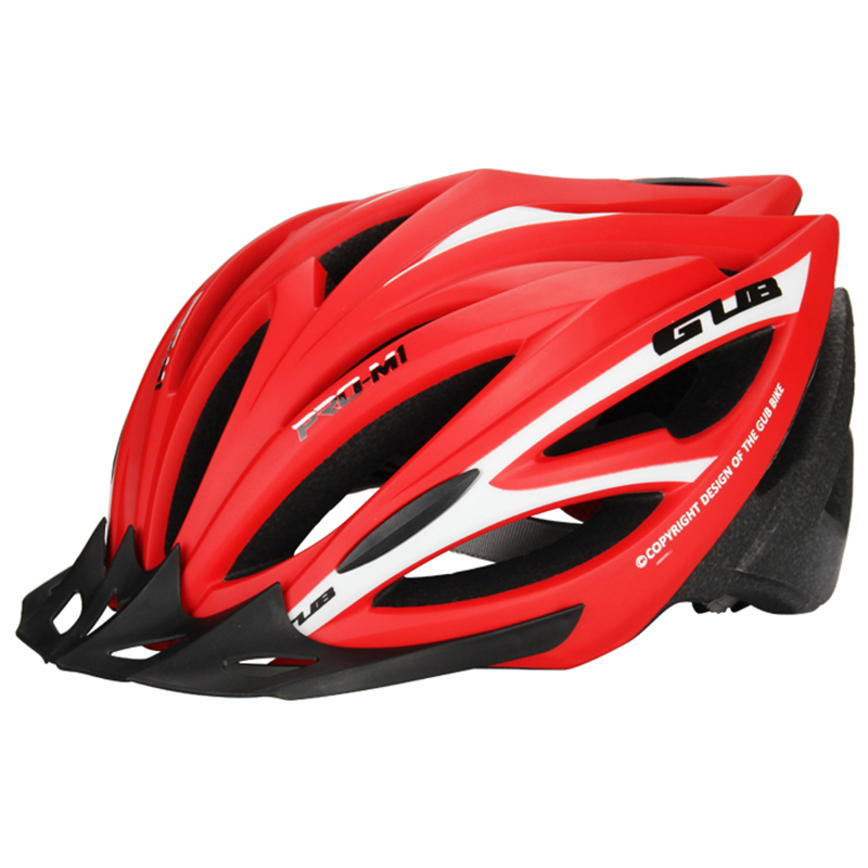High Cycling Bicycle Helmet GUB Ultralight Integraal Gevormde Fietshelm Voor MTB Mountain Bike Sport Helmet Brim Cascos Ciclismo<br>