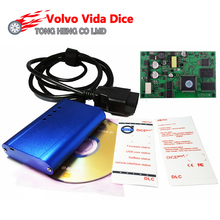 High Quality for Volvo Vida Dice Super for VOLVO VIDA DICE PRO+ 2014D Fimware Update&Self-Test For Volvo Scanner(China)