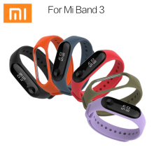 Mi band 3 Silicone strap Xiaomi Mi Band 3 Bracelet Strap Miband 3 Colorful Strap Wristband Replacement Smart Band mi band3