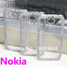 Buy New Arrival Luxury Bling Rhinestone Crystal Hard Case Cover Nokia Lumia 520 525 620 625 720 925 Case Diamond for $4.95 in AliExpress store