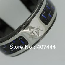 s Jewelry USA Hot Sales 8MM Black Stainless Steel Light Catcher Masonic Ring US SIZE 10-12 - E&C Super Fashion Store (-ratail store)