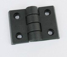 Nylon Hinges Black For 2020,3030,4040,4545 Aluminum Profile Accessories Pack 10(China)