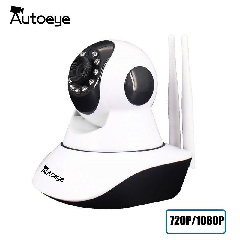 Autoeye 720P 1080P Security Network CCTV WIFI Camera Wireless Security IP Camera IR Infrared Night Vision Surveillance Camera<br>
