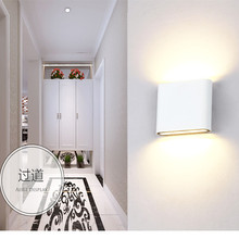 Free Shipping 8W 14W COB LED Wall Lamps Indoor Outdoor Lighting Surface Mounted Warm Cool White Night Light Bedroom Living Room(China)
