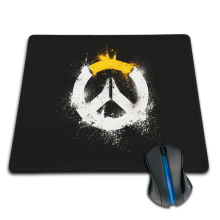 Rubber Mousepad Computer Loptop Gaming Overwatch Logo Wallpaper Cool Game Funny Mat Free Shipping Mouse Pad Rubber Mat Two Sizes