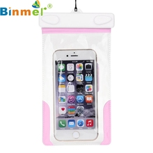 Top Quality New Arrival Travel Swimming Waterproof Bag Case Cover for 5.5 inch Cell Phone Good Sale JUL 28