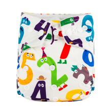 Big Promotion (Total 30 pcs A Lot ) Latest Prints Babyland Cloth Diapers with Microfiber Inserts Pocket Potty Nappies(China)