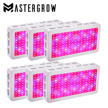DIAMOND 6PCS/1500W Double Chips LED Grow Light Full Spectrum 410-730nm For Indoor Plants and Flower Phrase with Very High Yield(China)
