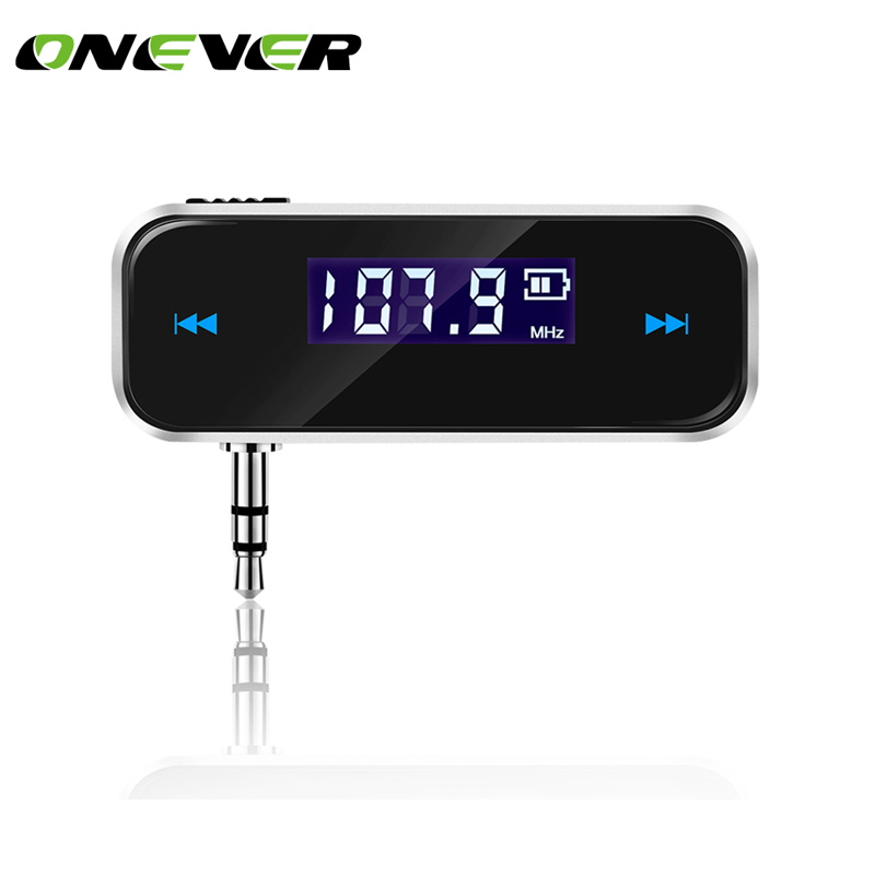 Mini Wireless Transmitter 3.5mm In-car Music Audio FM Transmitter For iPhone 4 5 6 6S Plus Samsung iPad Car MP3 Transmitter(China (Mainland))