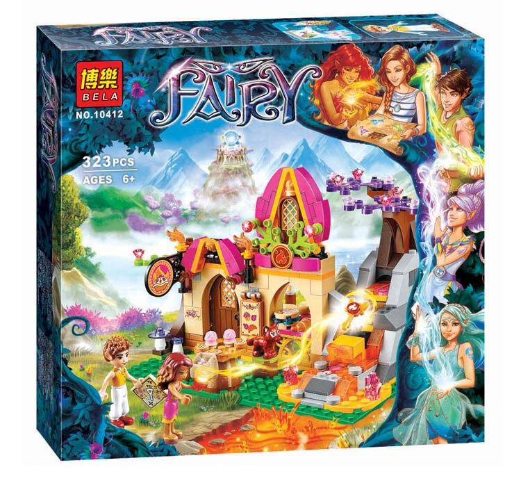BELA friends Elves series Elves Azari and The Magical Bakery 10412 building blocks 323pcs bricks FIRE ELF Christmas gift toys<br><br>Aliexpress