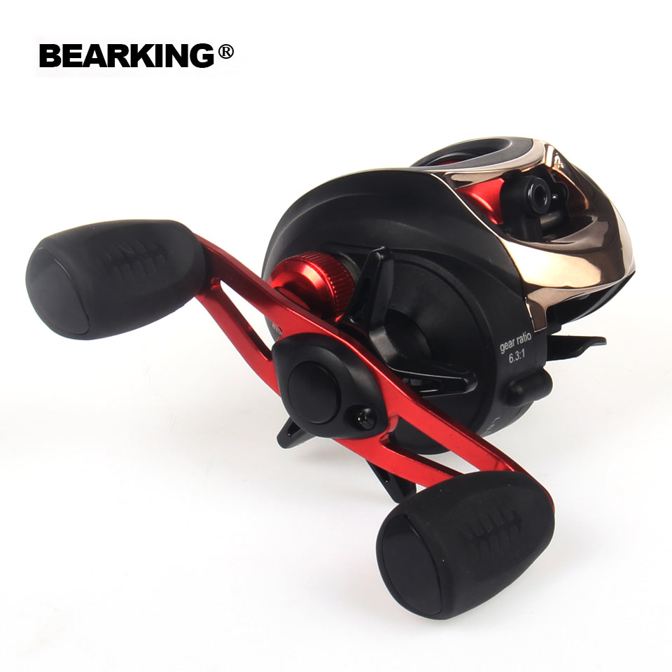 Bearking Ninja series 2017 New Mela Super Light Weight Body Max 6.3: 1 Fresh/Salt Water Fishing Reel Spinning Reel Free Shipping<br>