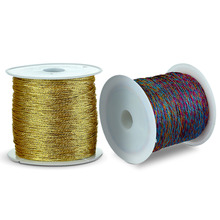 Mix Color 1 Roll 20/25/32/50/100 Meters 0.4/0.6/0.8/1mm Diameter Nylon Macrame Cord for Diy Bracelet Necklace Jewelry Finding