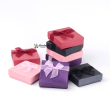 Valentines Day Gifts Boxes Packages Cardboard Bracelet Boxes, Mixed Color, about 9cm wide, 9cm long, 2.7cm high