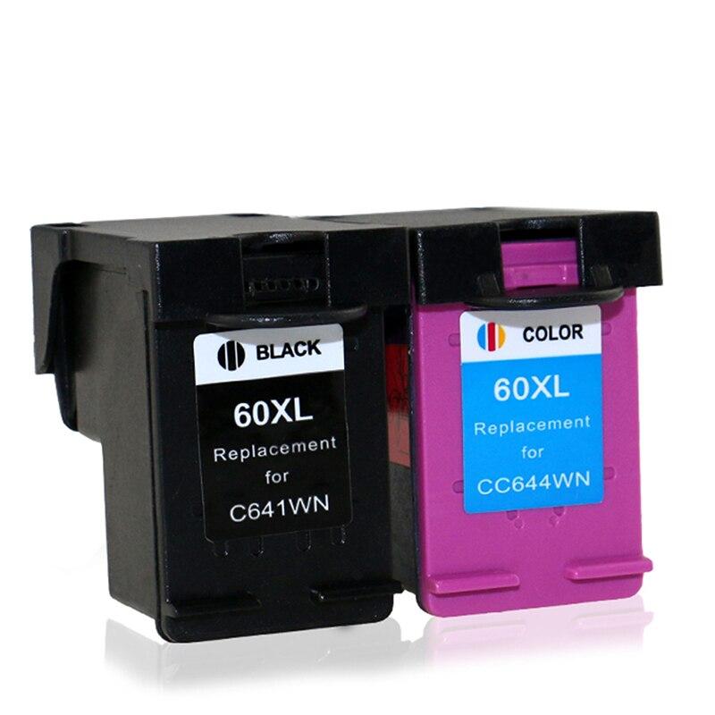 Ink Cartridge For HP 60XL 60 XL For HP60XL 60 C4635 C4640 C4650 C4680 C4740 C4750 C4780 C4795 D110A D1660 D2530 D2545 D2560<br><br>Aliexpress