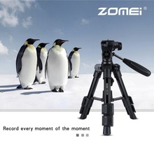 Zomei Q100 Universal Portable Mini Tripod Travel Camera Accessories Aluminum Durable Tripod for Desktop Camera