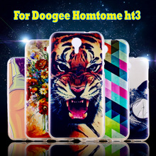 Flexible Soft Silicon Cases For Doogee Homtom HT3 Case Cover For Doogee Homtom HT3 PRO Shell Covers Cell Phone Housing Shield
