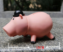 Kids Great Gift Animal Saving Coin Money Box Toy Story Piggy Bank Pink Pig Coin Money Box Action Figure Toys(China)