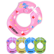 Baby Underarm Swimming Rings Swim Float, Swimming Trainer,Inflatable PVC Swim Ring, Pink,Blue, Green, Yellow Pool Life Vest(China)