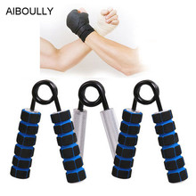 AIBOULLY 100-350LB A type gripper hand expander hand grip pinch gripper hand exerciser equipment heavy grip trainer gripper 1pc(China)