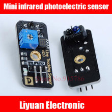 3pcs Mini infrared photoelectric sensor / infrared hunt line sensor / smart car technology production(China)