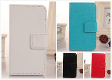 LINGWUZHE Wallet Bags PU Leather Book Design Mobile Phone Cover Case For Gigabyte GSmart Guru G1