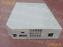 For Wii game console Housing case with Buttons+Screws+Toll Bar+Door Mad+Sticker
