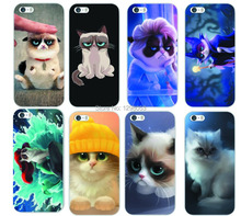 Many Designs 1pcs Cat Animal PC Hard Cover Case for  iPhone 5 5s Phone Case Factory Price Wholesale MCA031