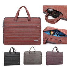 High quality nylon15 15.6 14.4 13.3 super light cheap notebook case Laptop briefcase handbag for macbook hp Ultrabook(China)