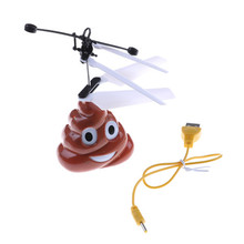 New Arrival RC Fly Ball Drone Helicopter Magic Infrared Induction Flight UFO LED Ball Toy(China)