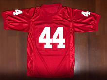 Forrest Gump 44 Football Jersey Stitched Tom Hanks Movie Red Mens Throwback
