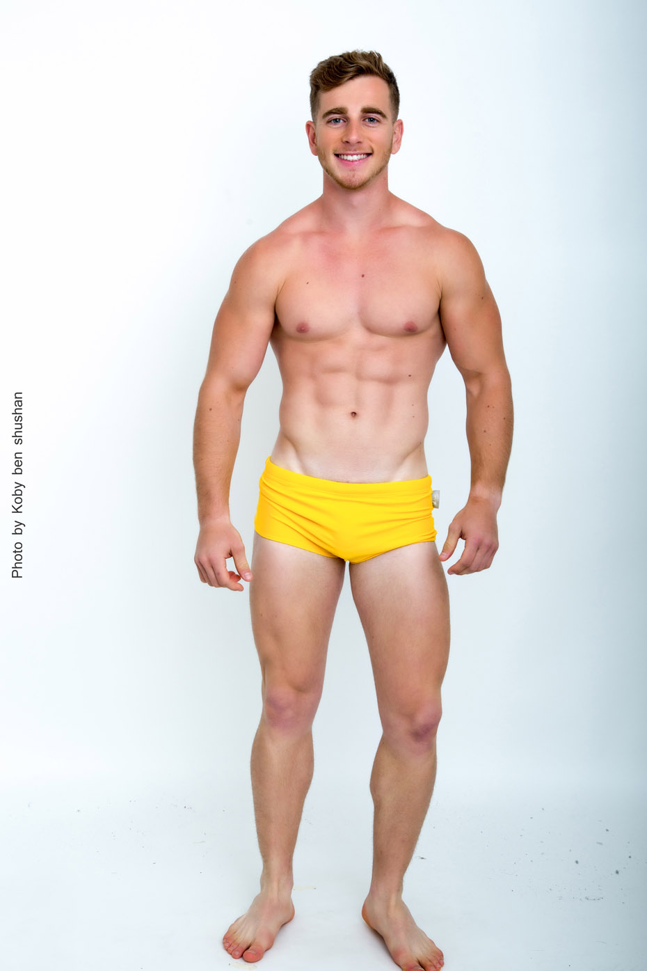 Lihtsad bokserilõikega ühevärvilised ujumispüksid