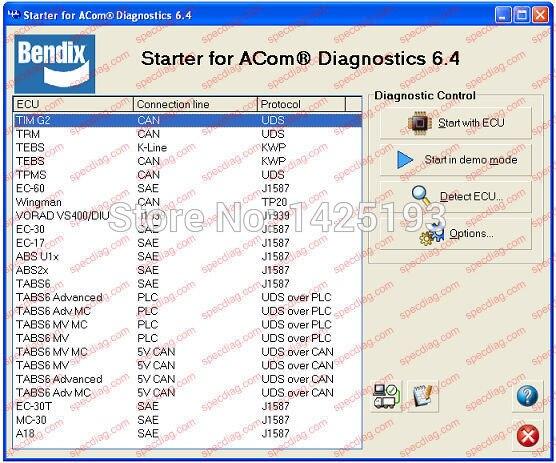Bendix ACom Diagnostic Software (v.6.11.2.4) <br><br>Aliexpress