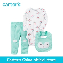 Buy Carter's 3-Piece baby children kids clothing Girl Spring & summer Cotton Little Character Set 126G958 for $16.80 in AliExpress store