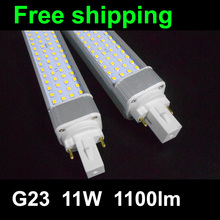 g23 led pl lighting 11W bulb lamp with 60pcs SMD 5050 2835 pl bulb 120degree 1000lm real test warm white/cool white/white(China)