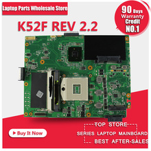 K52F Laptop motherboard A52F system board , X52Fmainboard(China)