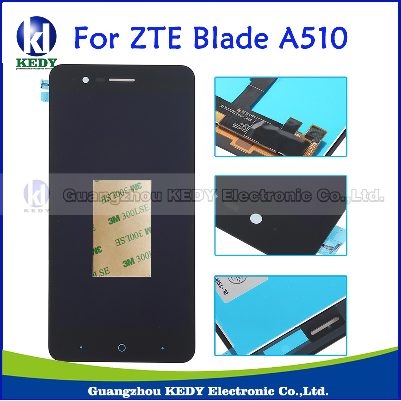 50pcs For ZTE Blade A510 LCD Display+Touch Screen Digitizer Assembly Replacement For ZTE Blade A510 Cell Phone<br><br>Aliexpress