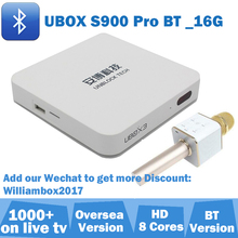 TV BOX Ubox 3 S900 Pro Bluetooth iptv box for Japan Korea Malay SG Thailand Australia NZ ID Vietnam UK Can Ship From UK