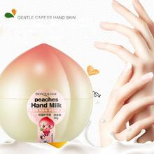 Top Selling Milk Moisturizing Hand Cream Ageless Nourishing Peach Hand Cream brighten the complexion 2017 Anne(China)