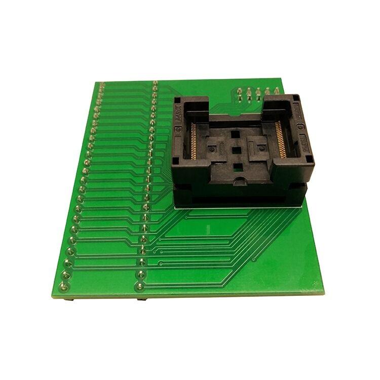 New TSOP56 Opentop Programming Socket IC Test Socket Flash Burn in Socket Adapter High Quality Eletronic for RT809H programmer