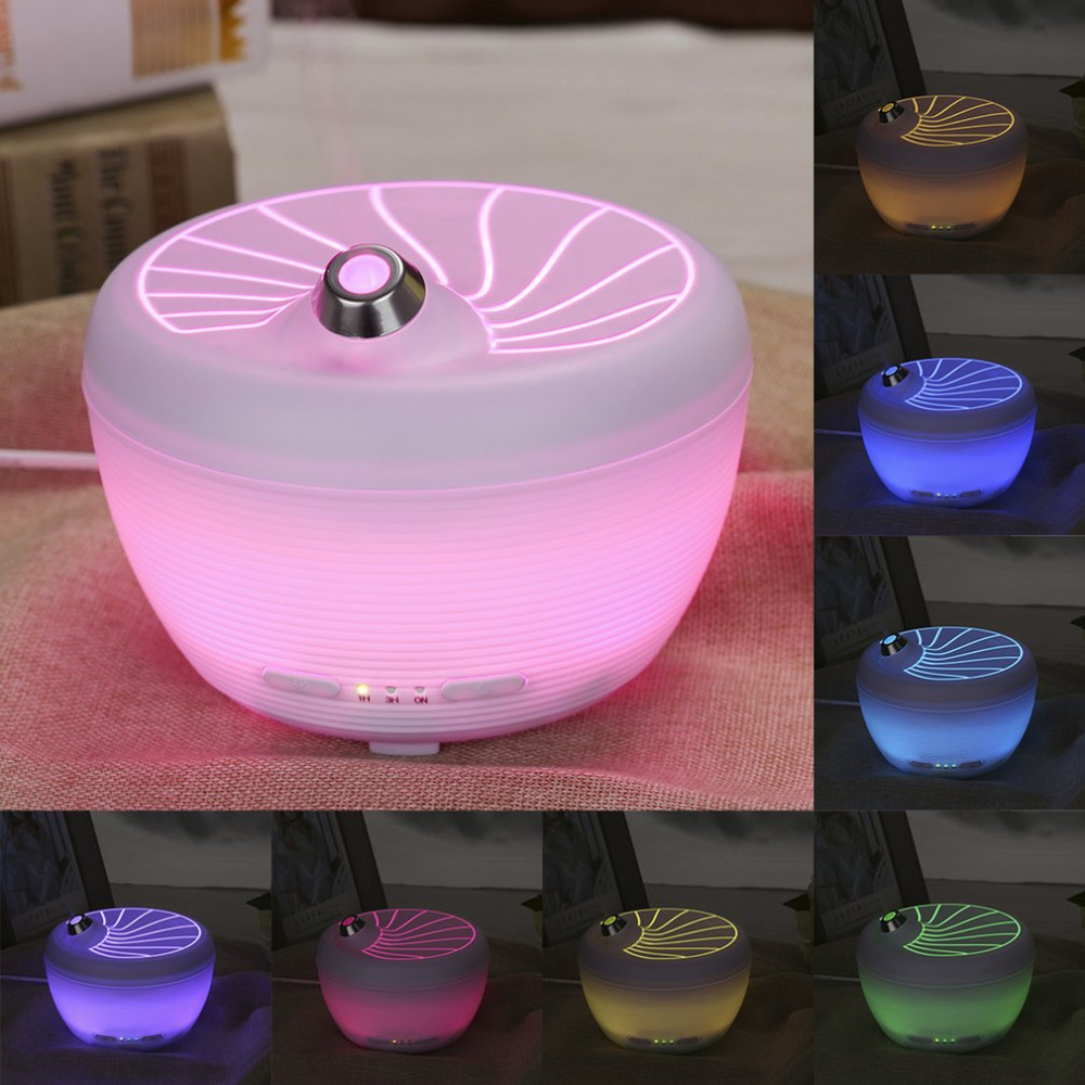 LED Colorful 200ML Essential Oil Diffuser Aroma Ultrasonic Humidifier USB Rechargeable Air Mist Aromatherapy<br>