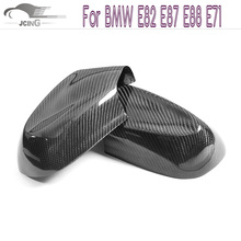 Buy Carbon Fiber Door Side Mirror Covers Mask BMW 1 series E87 2010-2011 Add style Rearview Mirror Caps Car styling for $91.91 in AliExpress store