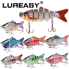 LUREASY 10CM 20G Swimbait Hard Bait Fishing Lure Quality Professional Isca Artificial Lures Tackle Minnow Fishing Accessories(China)