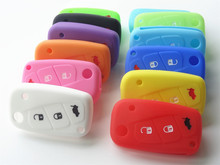Replace new Silicone Key Cover for FIAT 500 3 buttons Luminous Panda Stilo Punto /Doblo /Grande /Bravo Ducato /Minibus for car