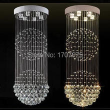 Personal Modern  transparent Crystal Ceiling Light  for Bedroom  Living Room
