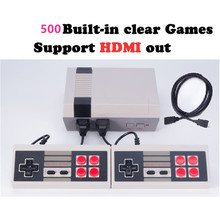 30pcs HDMI Out Retro Classic handheld game player Family TV video game console Childhood Built-in 500 Games For nes mini HDMI HD(China)