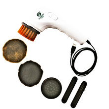 Electric Shoe Brush USB Polisher Cleaner Shoeshiner Leather CARE Sofa Cleaning Tools(China)