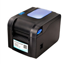 370B thermal bar code non-drying label printer clothing tags supermarket price sticker printer Support for printing 22-80 mm wid